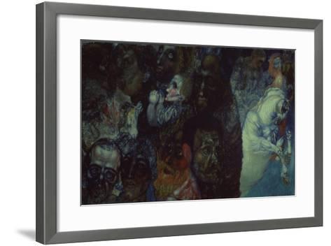Heads, 1910-Pavel Nikolayevich Filonov-Framed Art Print