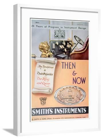 Advert for Smith's Car Instruments, 1935--Framed Art Print