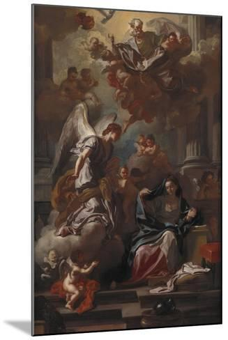 The Annunciation-Francesco Solimena-Mounted Giclee Print