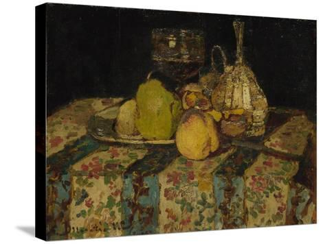 Still Life: Fruit, C. 1880-Adolphe-Thomas-Joseph Monticelli-Stretched Canvas Print