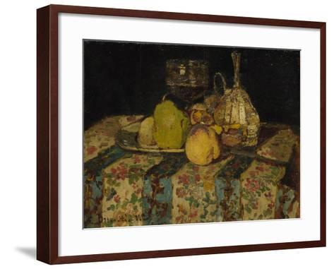 Still Life: Fruit, C. 1880-Adolphe-Thomas-Joseph Monticelli-Framed Art Print