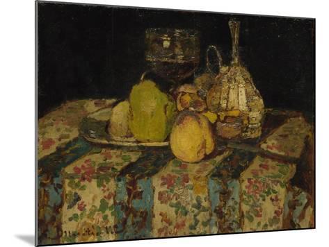 Still Life: Fruit, C. 1880-Adolphe-Thomas-Joseph Monticelli-Mounted Giclee Print