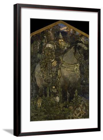 Bogatyr, 1898-Mikhail Alexandrovich Vrubel-Framed Art Print
