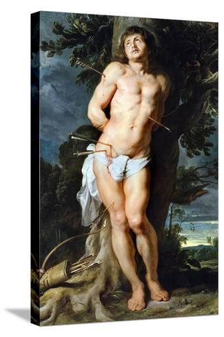 Saint Sebastian, C. 1618-Peter Paul Rubens-Stretched Canvas Print