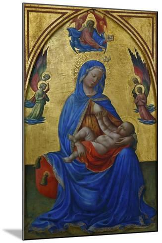 Virgin and Child, Ca 1435-Masolino Da Panicale-Mounted Giclee Print