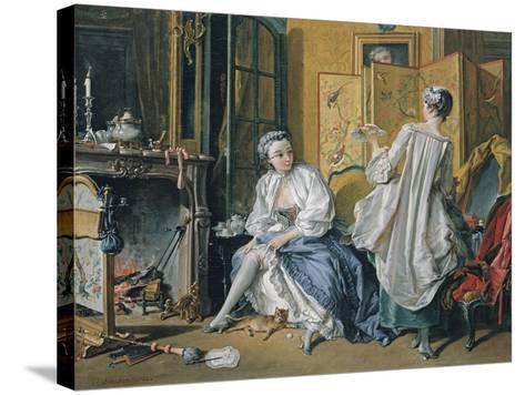 La Toilette, 1742-Fran?ois Boucher-Stretched Canvas Print