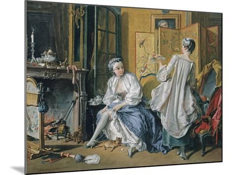 La Toilette, 1742-Fran?ois Boucher-Mounted Giclee Print