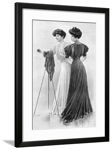 How a Girl Should Dress, 1907--Framed Art Print