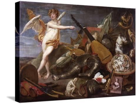 Triumph of Love and Beauty-Thomas Willeboirts-Stretched Canvas Print