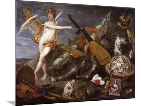 Triumph of Love and Beauty-Thomas Willeboirts-Mounted Giclee Print