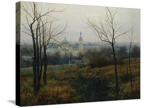 Autumn Is Over, 1887-Konstantin Konstantinovich Pervukhin-Stretched Canvas Print