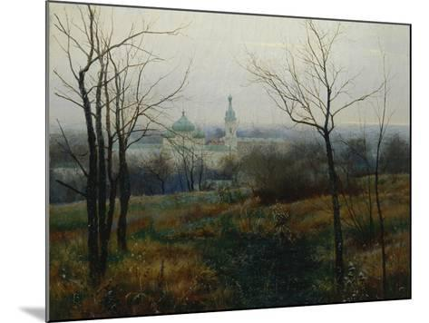 Autumn Is Over, 1887-Konstantin Konstantinovich Pervukhin-Mounted Giclee Print