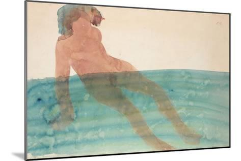 Bathing Woman, C.1901-1902-Auguste Rodin-Mounted Giclee Print