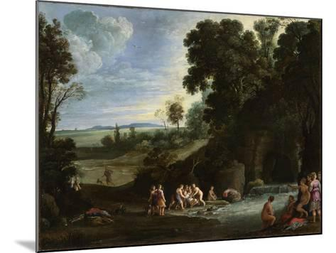 Diana and Callisto, 1620S-Paul Brill-Mounted Giclee Print