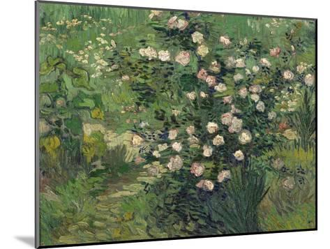 Roses, 1889-Vincent van Gogh-Mounted Giclee Print