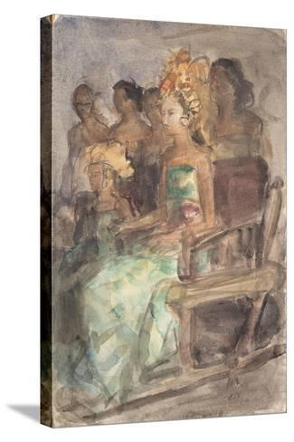 Indonesian Princess, 1890-Isaac Isra?ls-Stretched Canvas Print