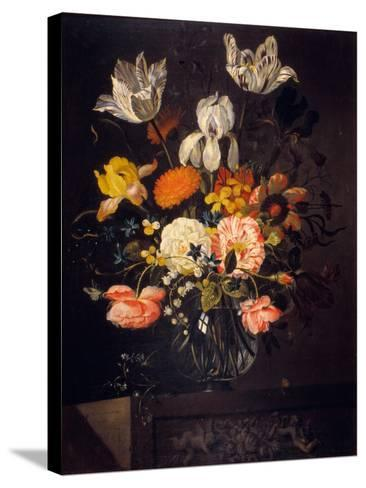 Still-Life with Flowers-Jacob Marrel-Stretched Canvas Print