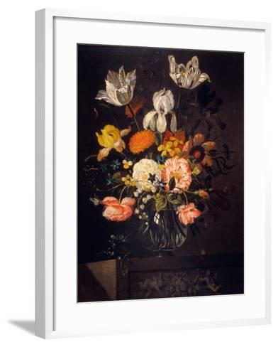 Still-Life with Flowers-Jacob Marrel-Framed Art Print