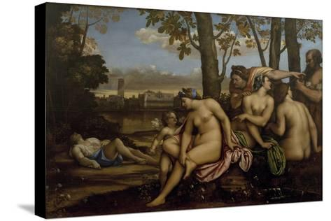 Death of Adonis, 1512-Sebastiano del Piombo-Stretched Canvas Print