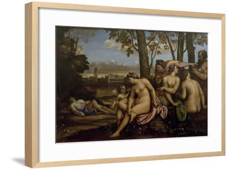 Death of Adonis, 1512-Sebastiano del Piombo-Framed Art Print