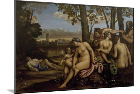 Death of Adonis, 1512-Sebastiano del Piombo-Mounted Giclee Print