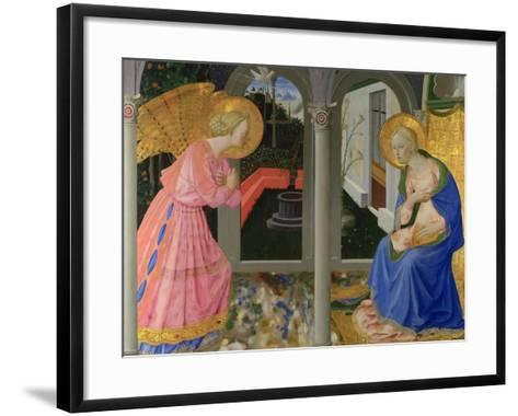 The Annunciation, C. 1440-Zanobi Strozzi-Framed Art Print