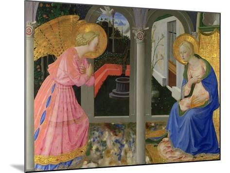 The Annunciation, C. 1440-Zanobi Strozzi-Mounted Giclee Print