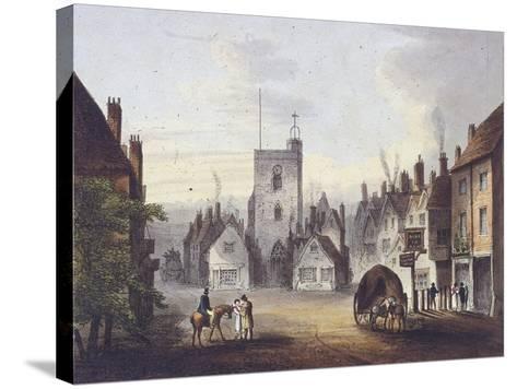 Bow, Poplar, London, 1783--Stretched Canvas Print