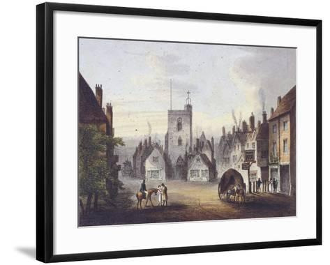 Bow, Poplar, London, 1783--Framed Art Print