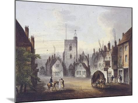 Bow, Poplar, London, 1783--Mounted Giclee Print