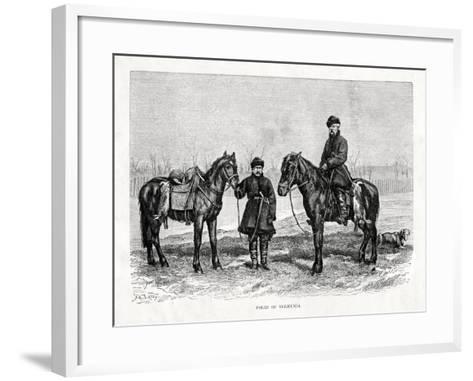 Poles of Volhynia, Western Ukraine, 1879--Framed Art Print