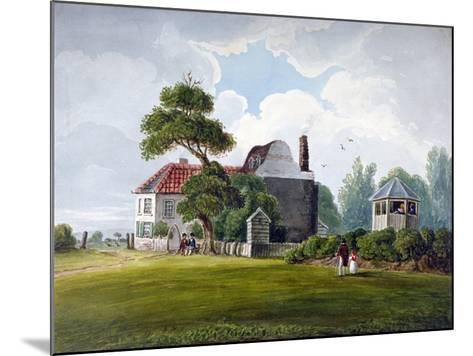 View of Copenhagen House and Gardens, Copenhagen Fields, Islington, London, 1815--Mounted Giclee Print