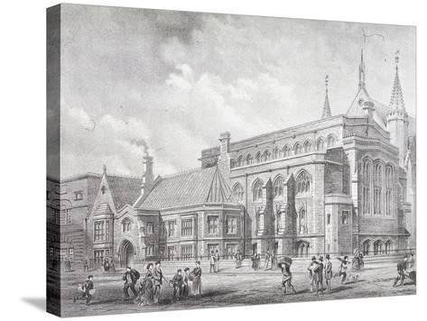 Guildhall Library, London, 1872-Sprague & Co-Stretched Canvas Print