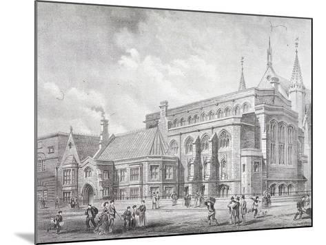 Guildhall Library, London, 1872-Sprague & Co-Mounted Giclee Print