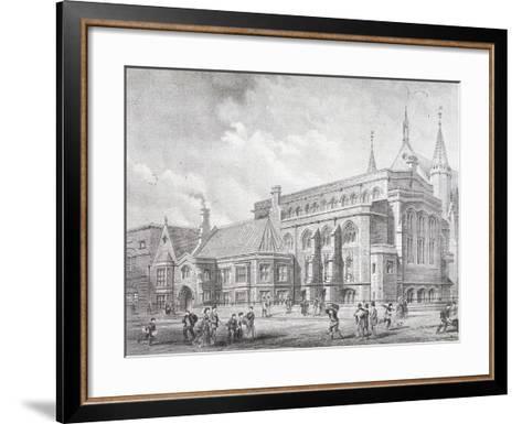 Guildhall Library, London, 1872-Sprague & Co-Framed Art Print