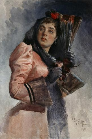 Carmen, 1892-L?on Bakst-Stretched Canvas Print