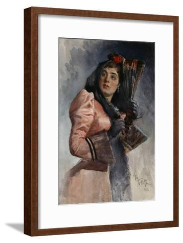 Carmen, 1892-L?on Bakst-Framed Art Print