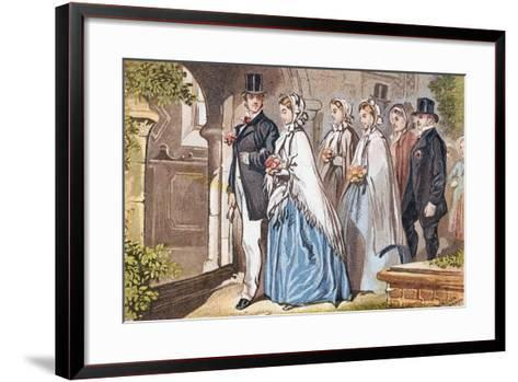 The Wedding Day, C1885--Framed Art Print