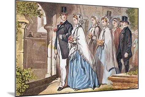 The Wedding Day, C1885--Mounted Giclee Print