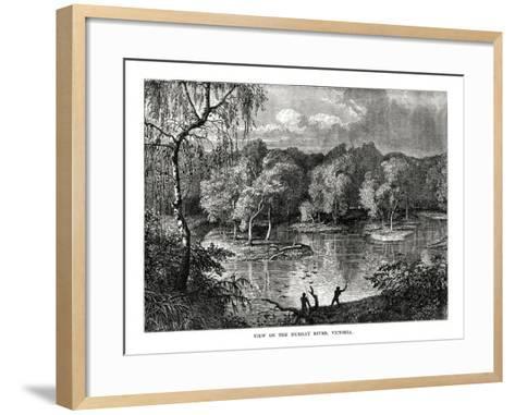 Murray River, Victoria, Australia, 1877--Framed Art Print