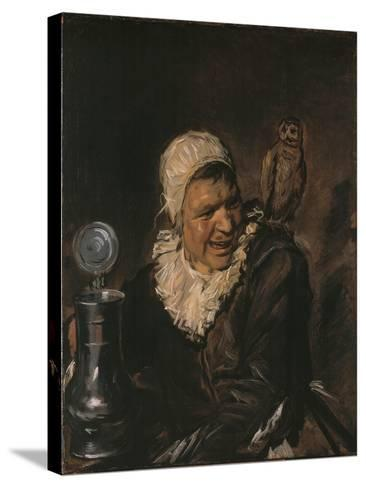 Malle Babbe, C. 1633-Frans I Hals-Stretched Canvas Print