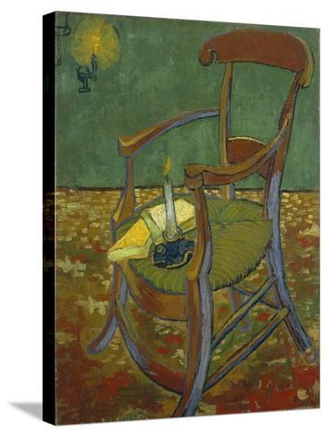 Gauguin's Chair, 1888-Vincent van Gogh-Stretched Canvas Print