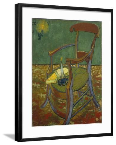 Gauguin's Chair, 1888-Vincent van Gogh-Framed Art Print