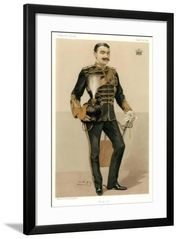 H a C, the Earl of Denbigh, 1894-Spy-Framed Art Print
