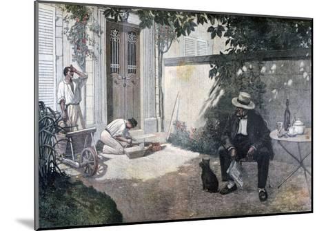 The Good Bourgeois, 1893-Henri Brispot-Mounted Giclee Print