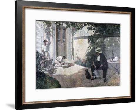 The Good Bourgeois, 1893-Henri Brispot-Framed Art Print