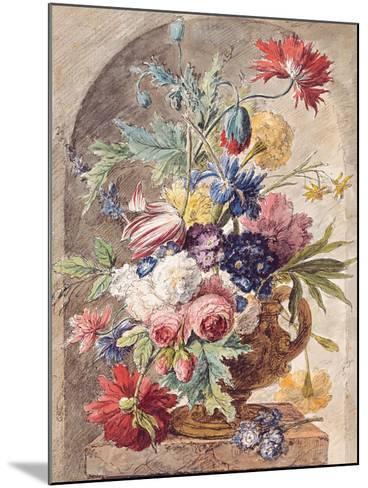 Flower Still Life, Ca 1734-Jan Van Der Heyden-Mounted Giclee Print