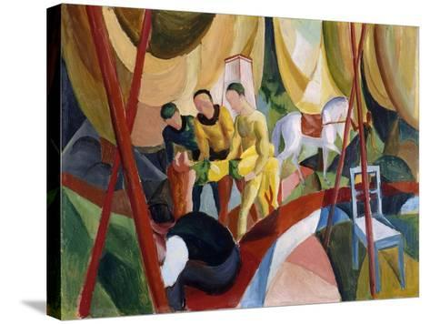 Circus, 1913-August Macke-Stretched Canvas Print