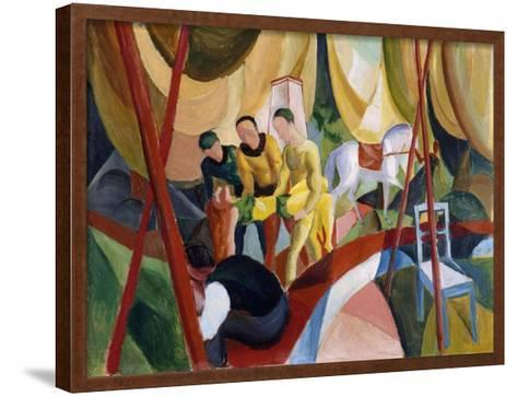 Circus, 1913-August Macke-Framed Art Print
