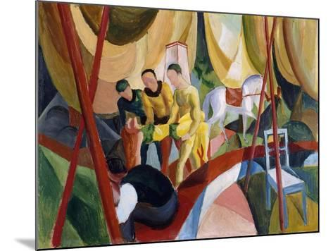 Circus, 1913-August Macke-Mounted Giclee Print